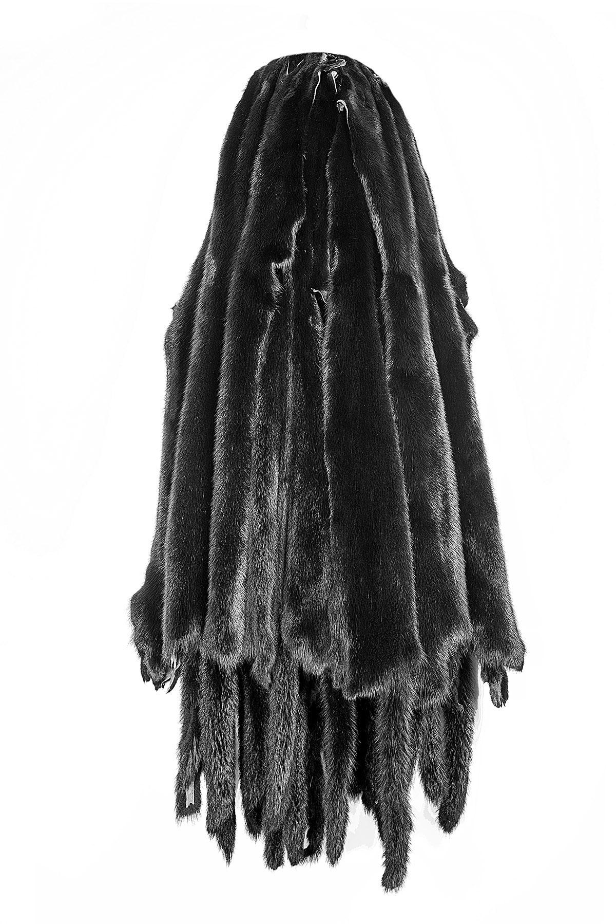 Норка черный-крашеный (Black)