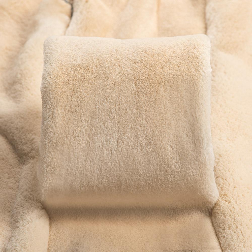 Норка Крем вельвет щипаная (Cream Velvet Sheered)