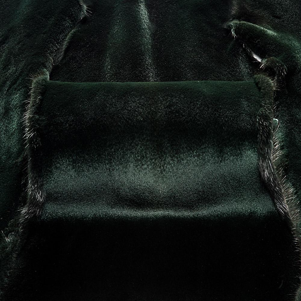 Норка Зеленый вельвет щипаная(Green Velvet Sheered)