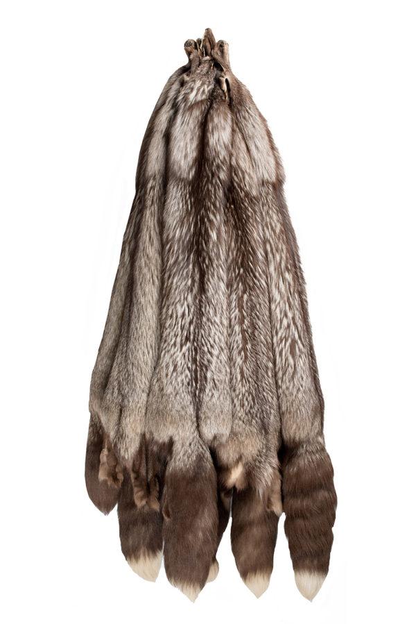 Лисица Серебристо-черная крашеный CHOCO SILVER