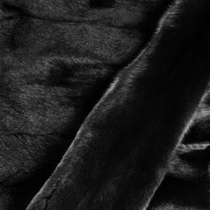 Песец вуалевый крашеный _Черный_(