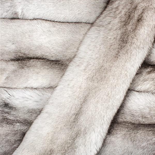 Песец Натуральный вуалевый (Blue Fox)