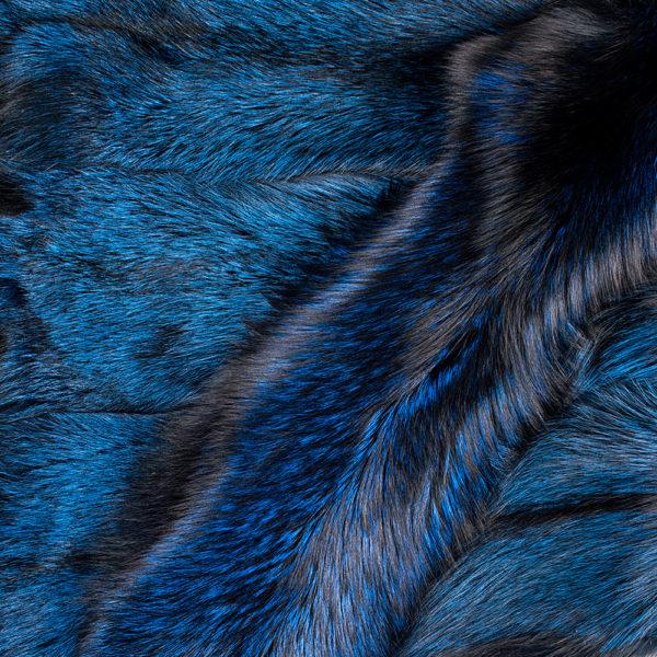 Лиса Silver Fox Blue