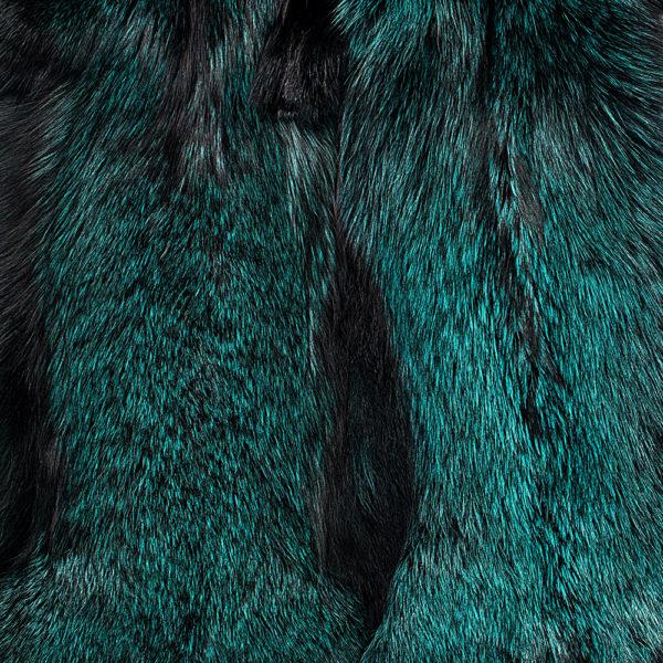 Лиса Silver Fox Green