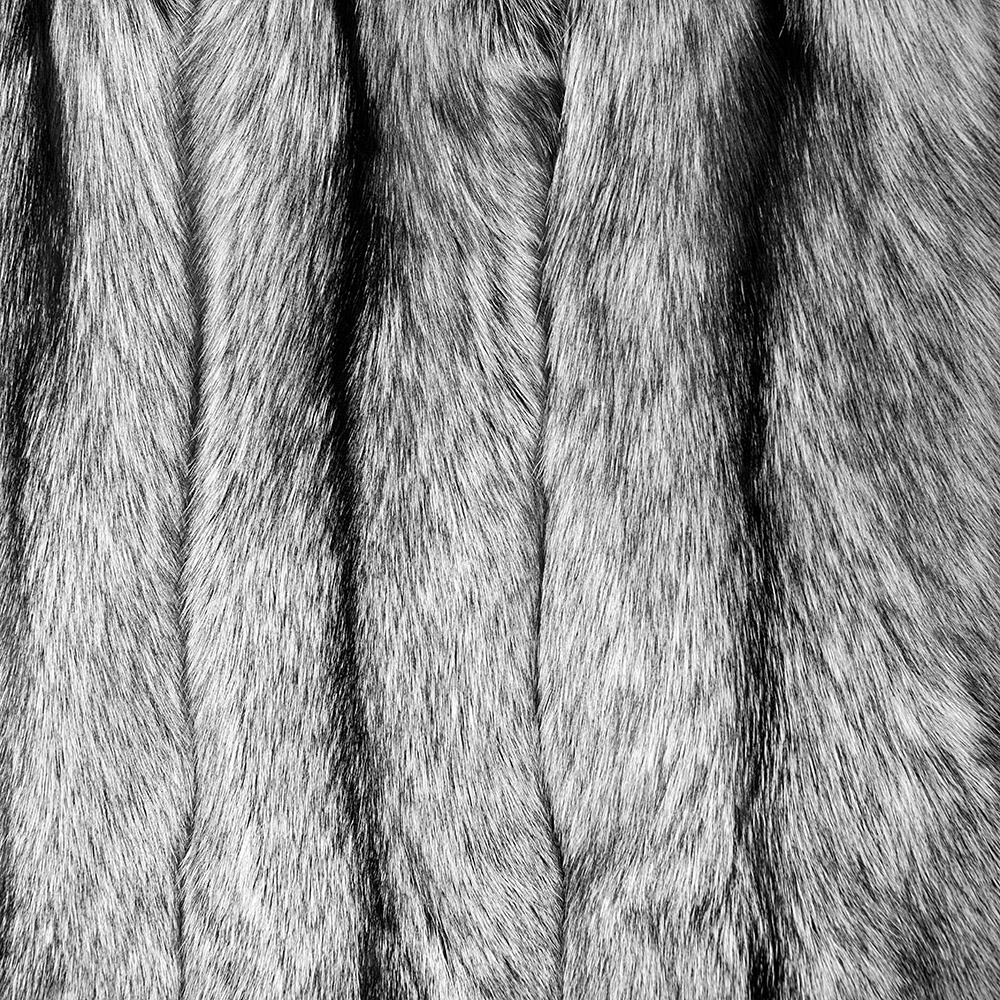 Норка Лисица Серебристо-черная (Silver Fox )